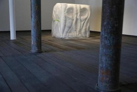 A covered piece by Louise Bourgeois.